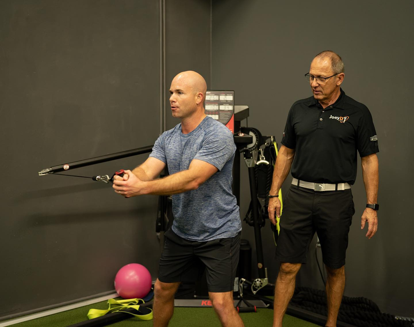 golf fitness assessment exercises