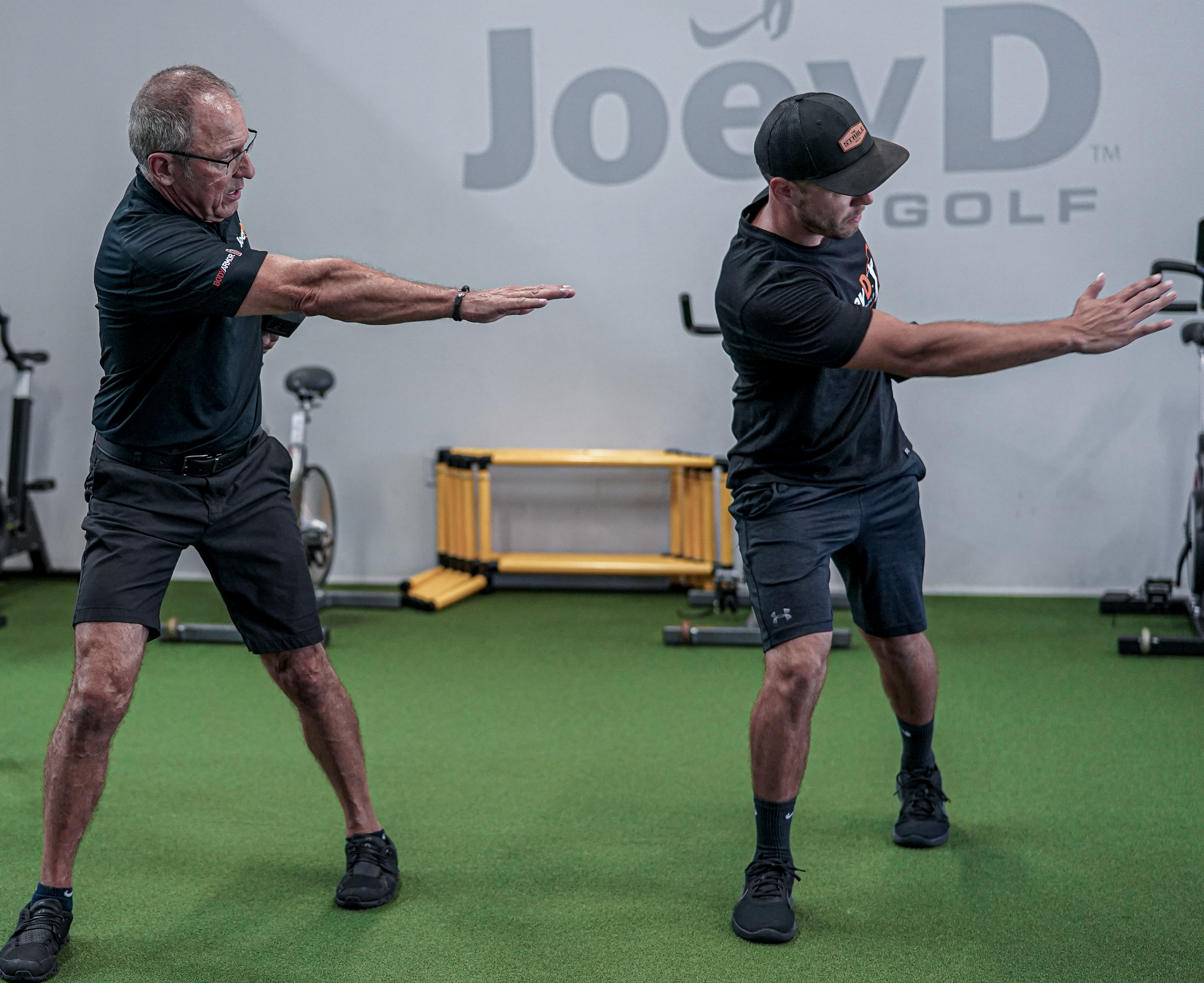 golf assessment at Joey D Golf Training Center