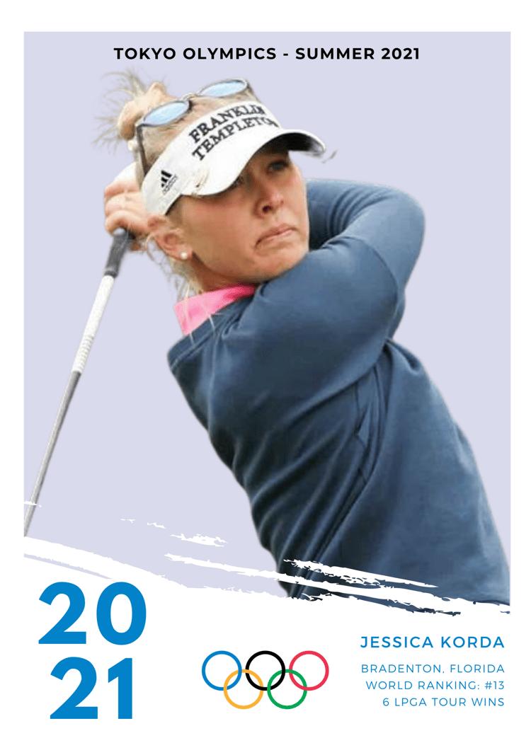 Jessica Korda 2021 Olympics