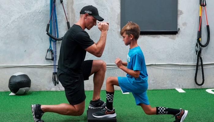 junior golf exercises for golf fitness