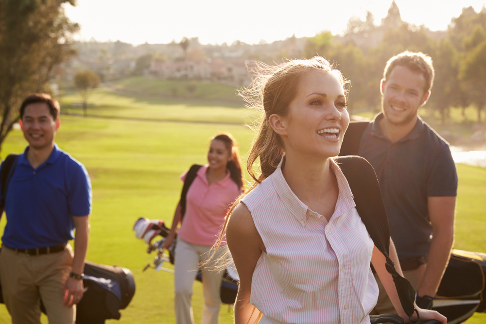 health benefits of golf social interaction