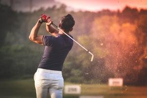 hitting the ball golf swing speed