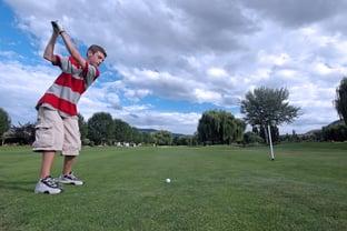 high school golfer